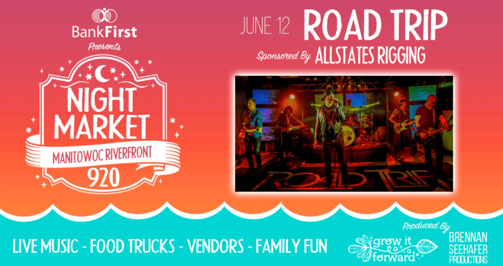 Manitowoc Riverfront Night Market 920 poster